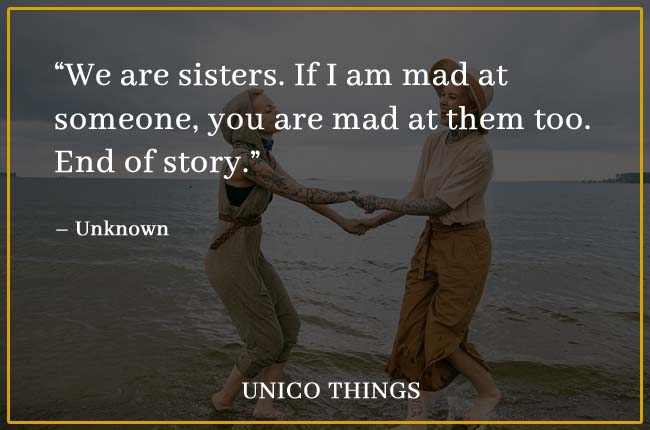 funny quotes on sister